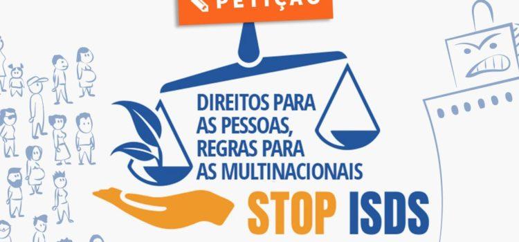 """TI-PT apoia campanha europeia """"Direitos para as Pessoas, Regras para as Multinacionais"""""""