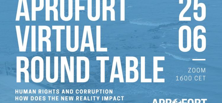 APROFORT: Virtual Round Table on Human Rights and Good Governance in Equatorial Guinea