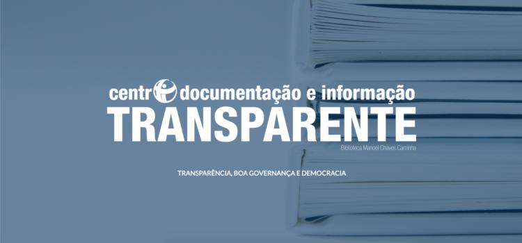 Novo Centro de Documentação e Informação sobre Transparência, Boa Governança e Democracia