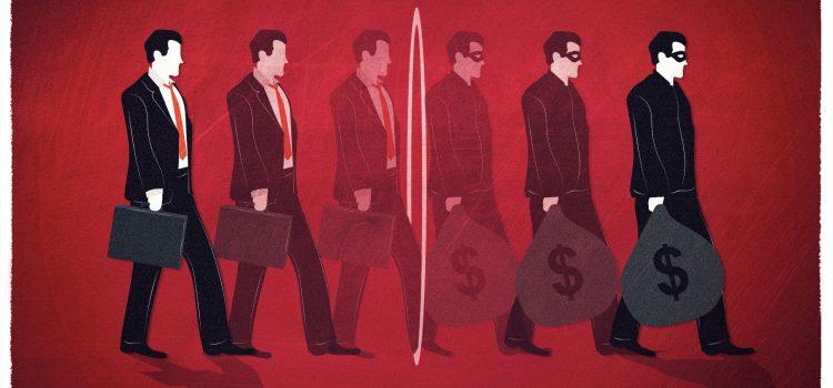 Advogados, contabilistas e outros profissionais da indústria financeira facilitam o crime do colarinho branco